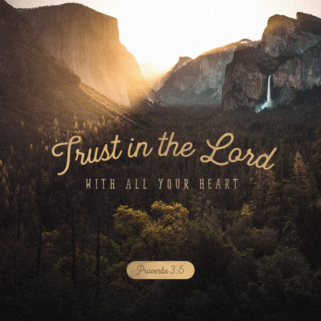 Image result for Proverbs 3:5 ESV