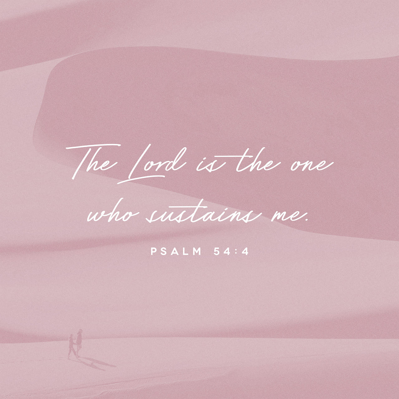 Psalm 54:4 Surely God is my help; the Lord is the one who sustains me. | New International Version (NIV)