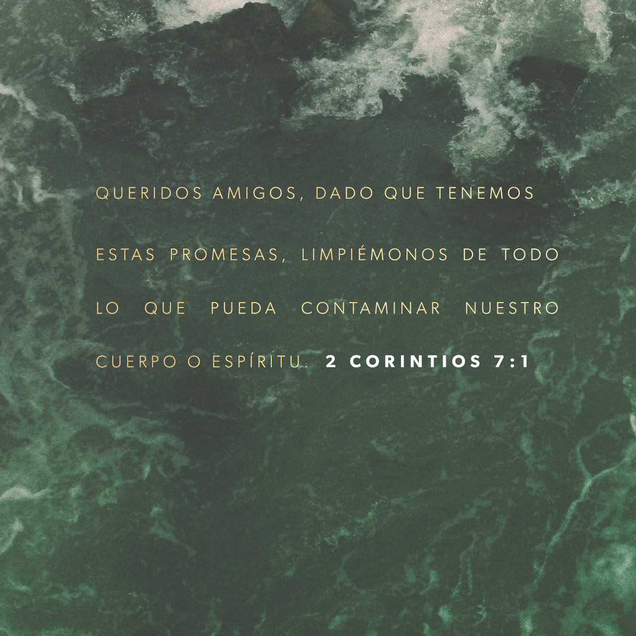 Versículo del Día - 2 Corintios 7:1-6 | The Bible App