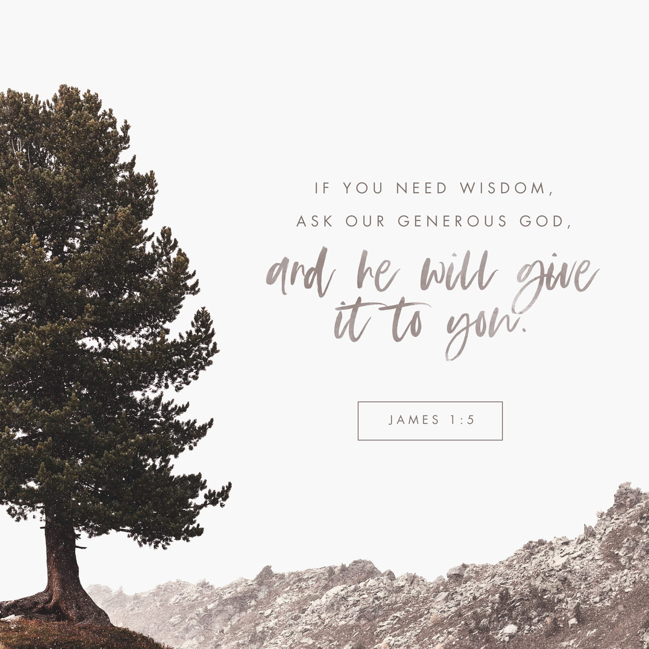 Verse of the Day - James 1:5   The Bible App   Bible com