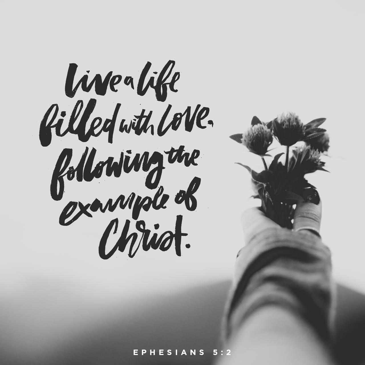 Ephesians 5:1-2 Be ye therefore followers of God, as dear children; And walk in love, as Christ also hath loved us, and hath given himself for us an offering and a sacrifice to God for a sweetsmelling savour. | King James Version (KJV)