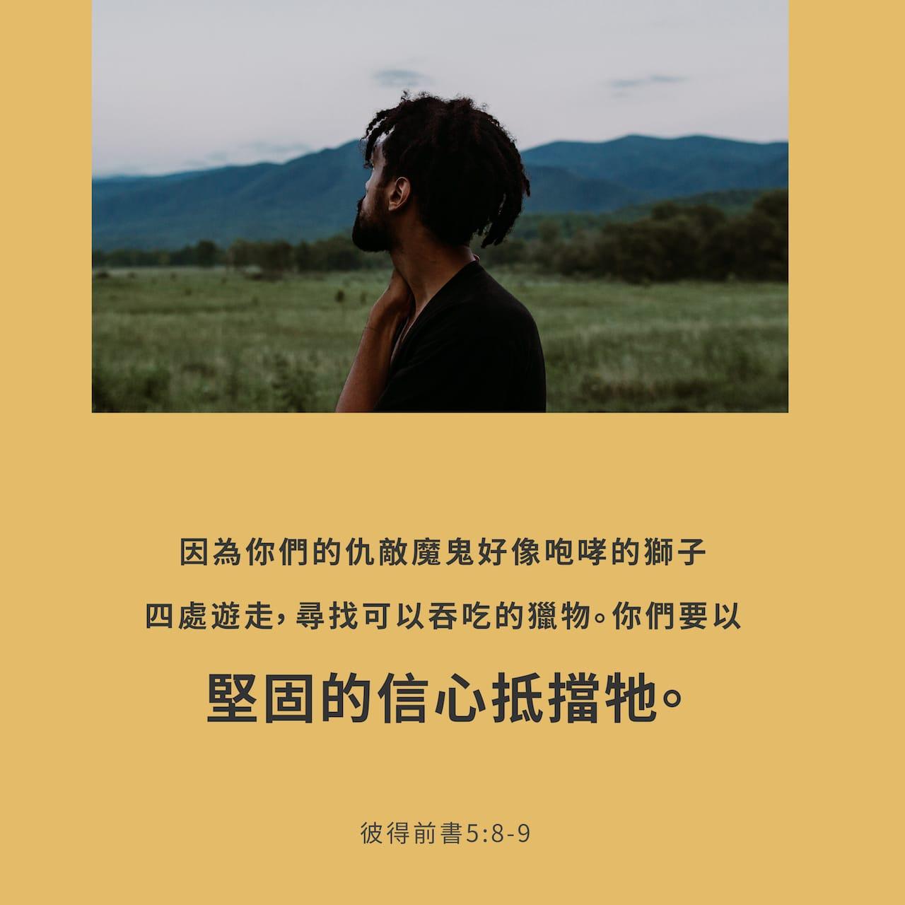 Image result for 彼得前书 5:8 