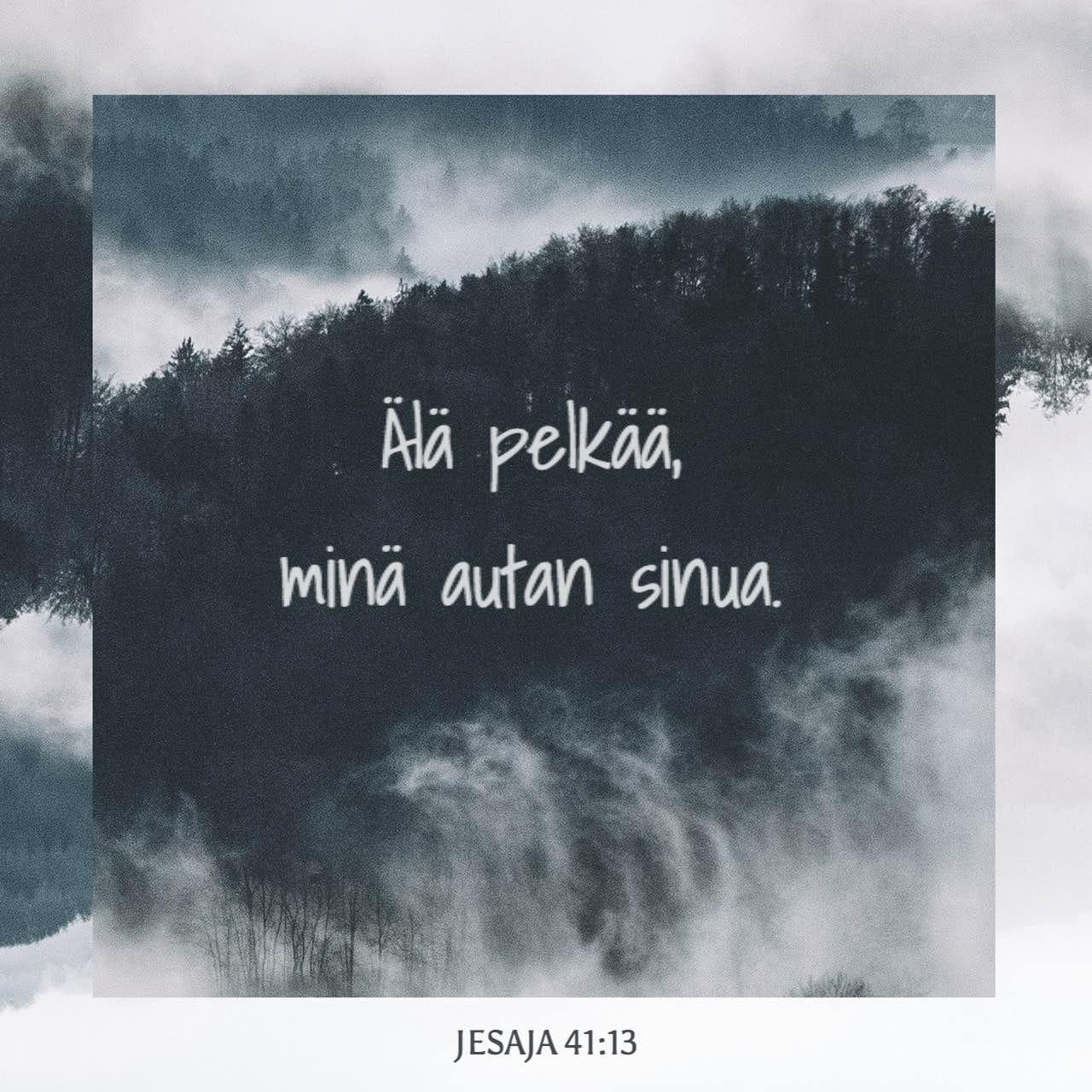 minä olen sinun kanssasi