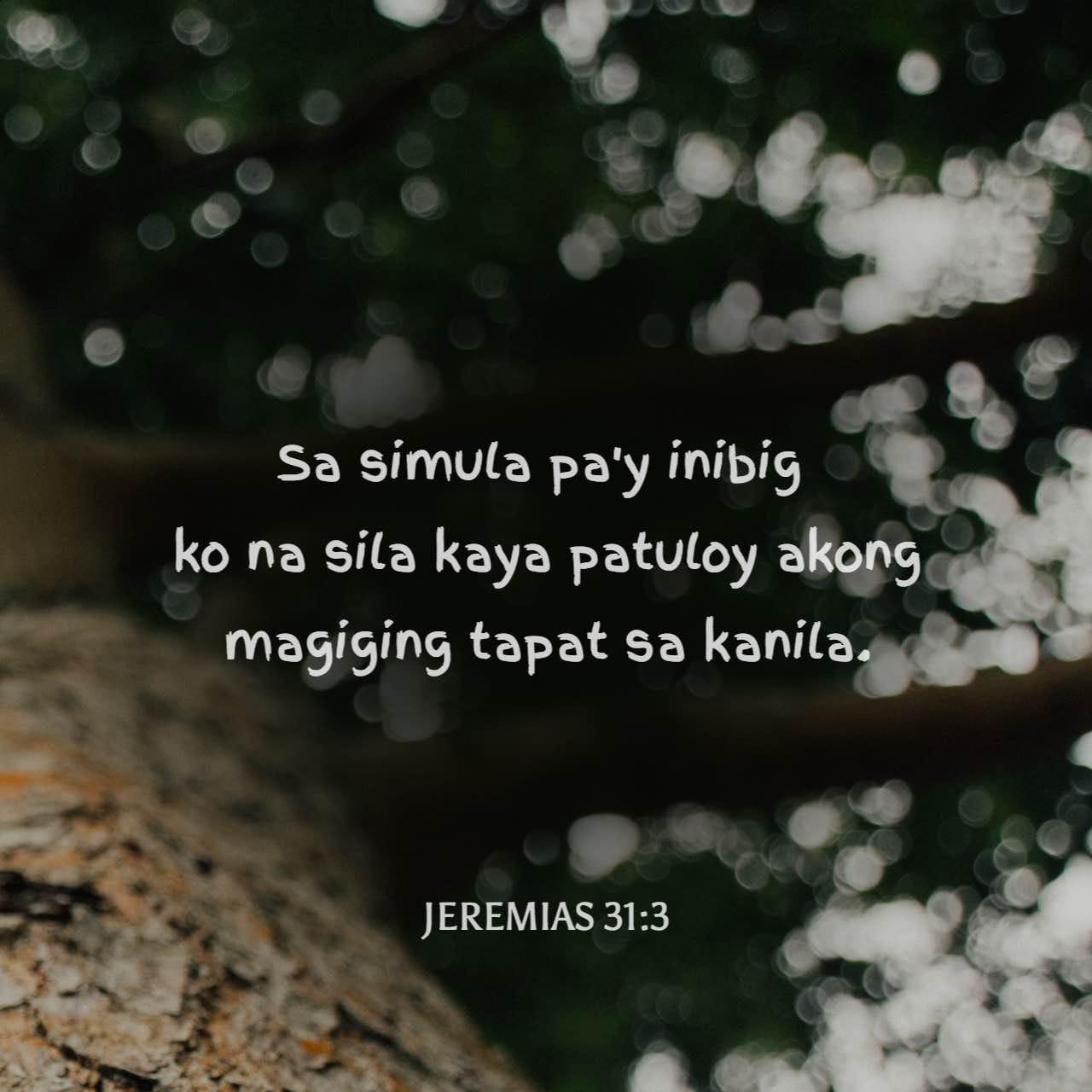 Jeremias 31 3