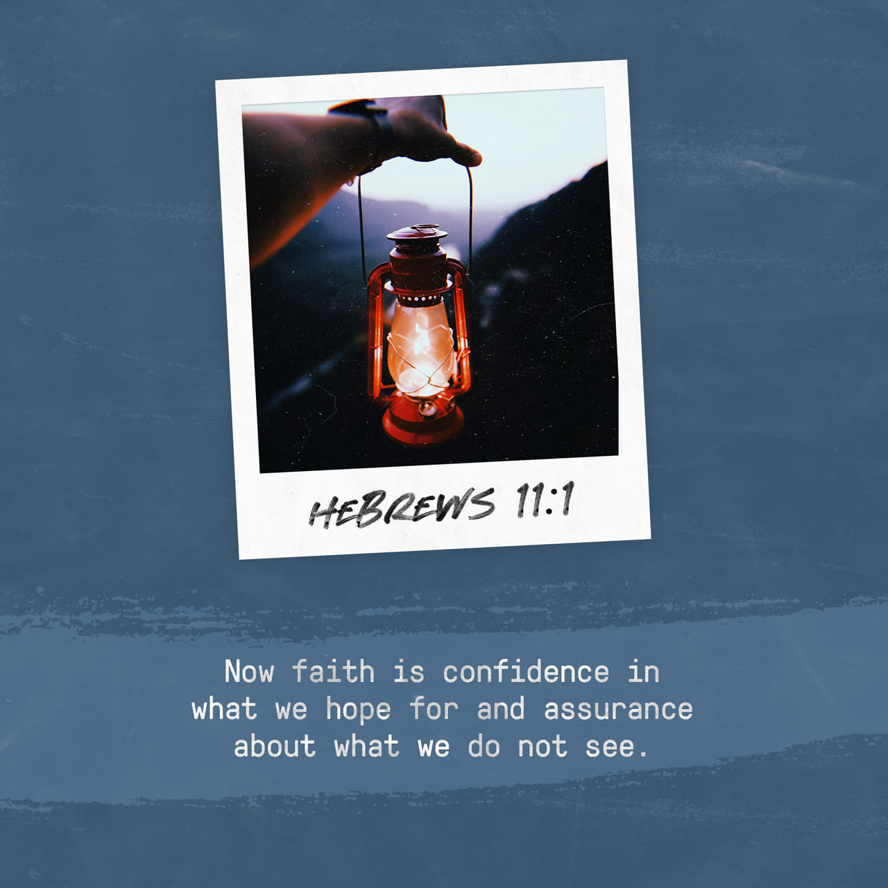 Hebrews 11:1 Faith shows the reality of what we hope for; it is the evidence of things we cannot see. | New Living Translation (NLT)