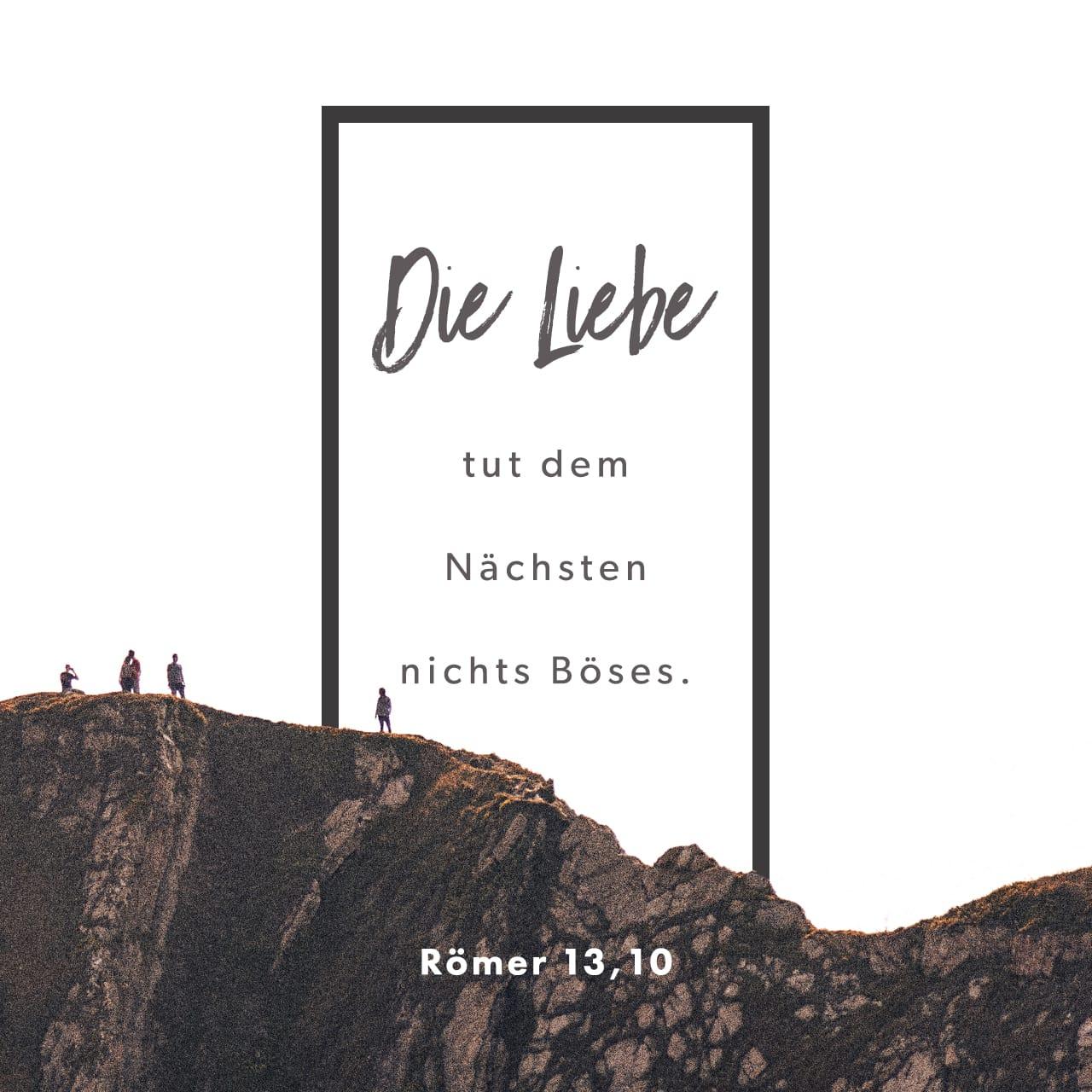Römer 13 8-10
