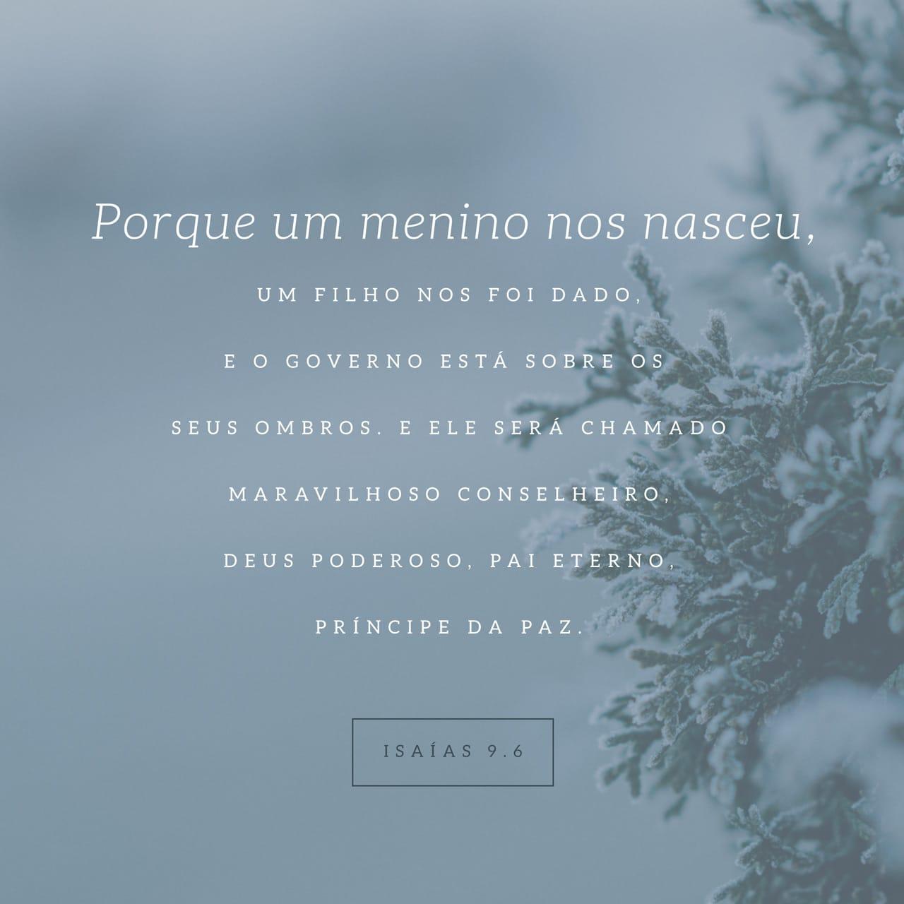 Imagem do Versículo - Isaías 9:6