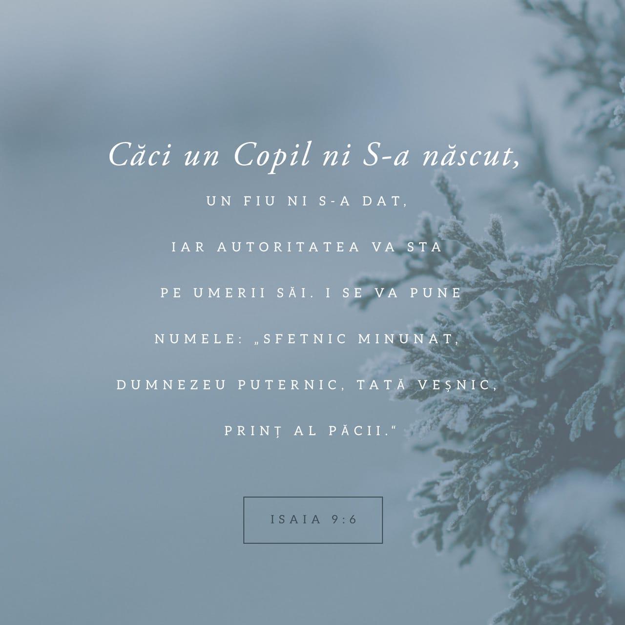Verset ilustrat - Isaia 9:6