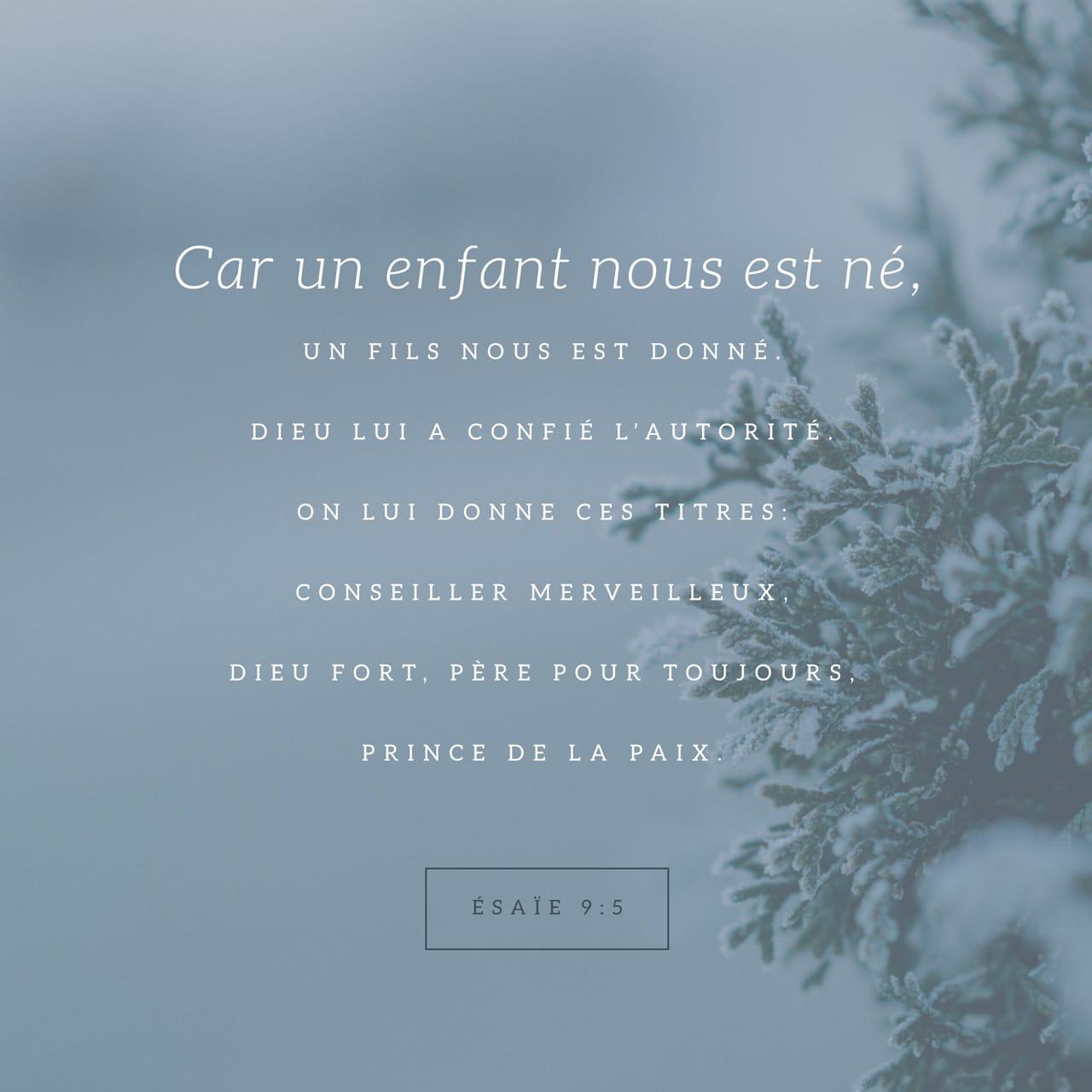Verset Illustré - Esaïe 9:6