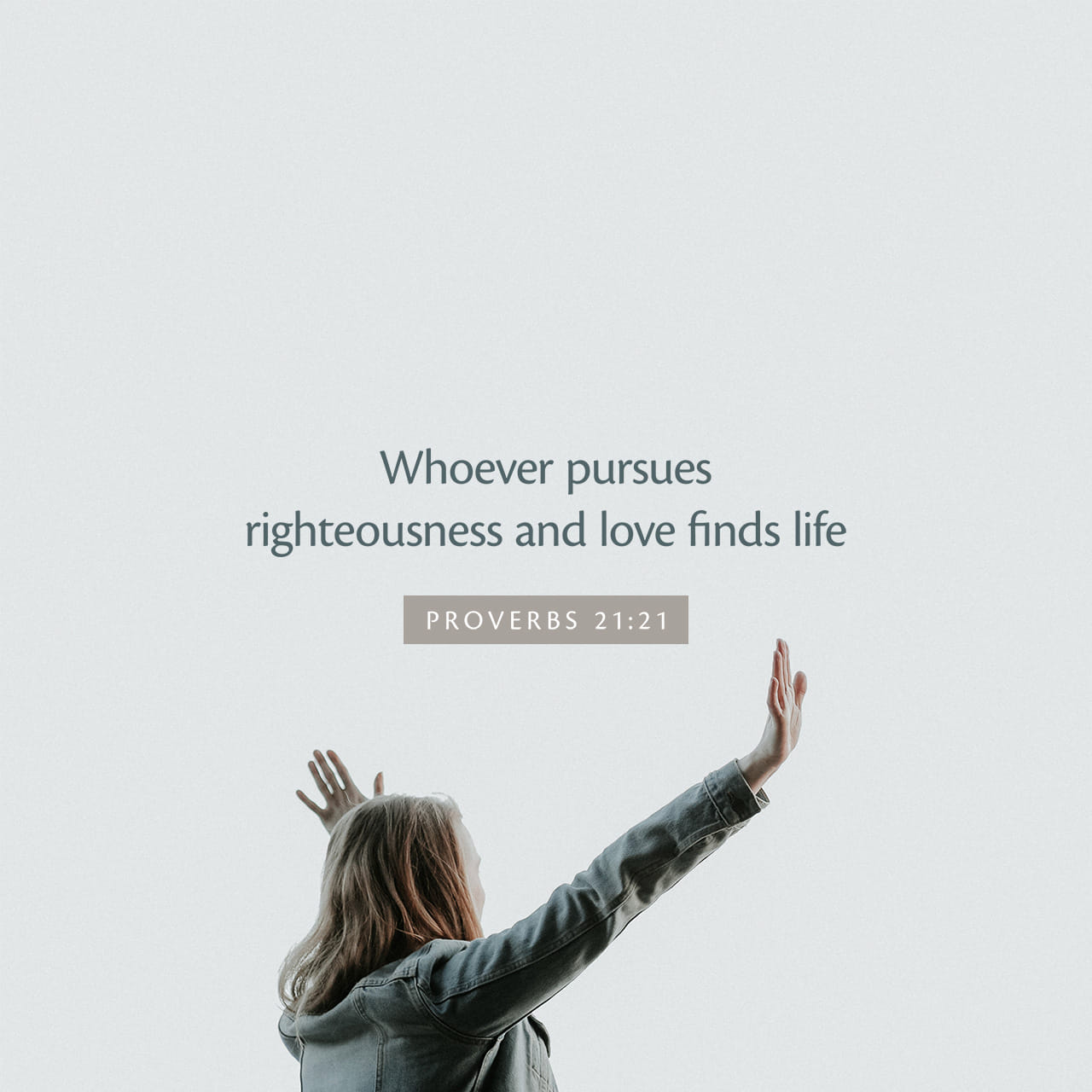 Pursue Righteousness