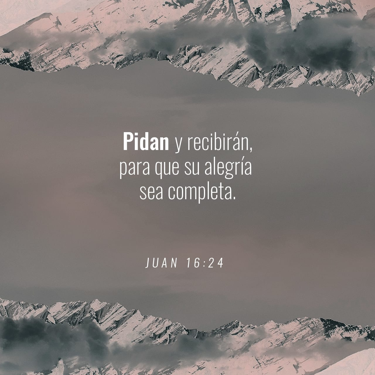 John 16:24 Hitherto have ye asked nothing in my name: ask, and ye shall receive, that your joy may be full. | King James Version (KJV) | Descargar la Biblia App ahora