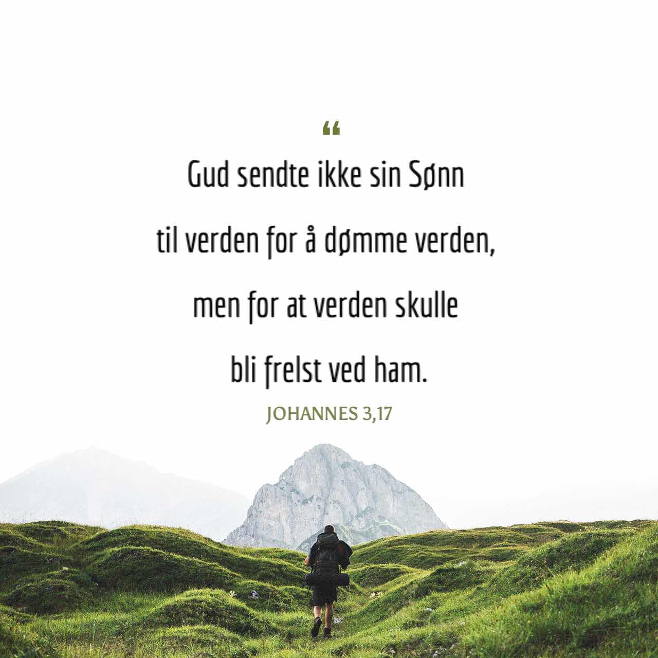 Johannes 3 17