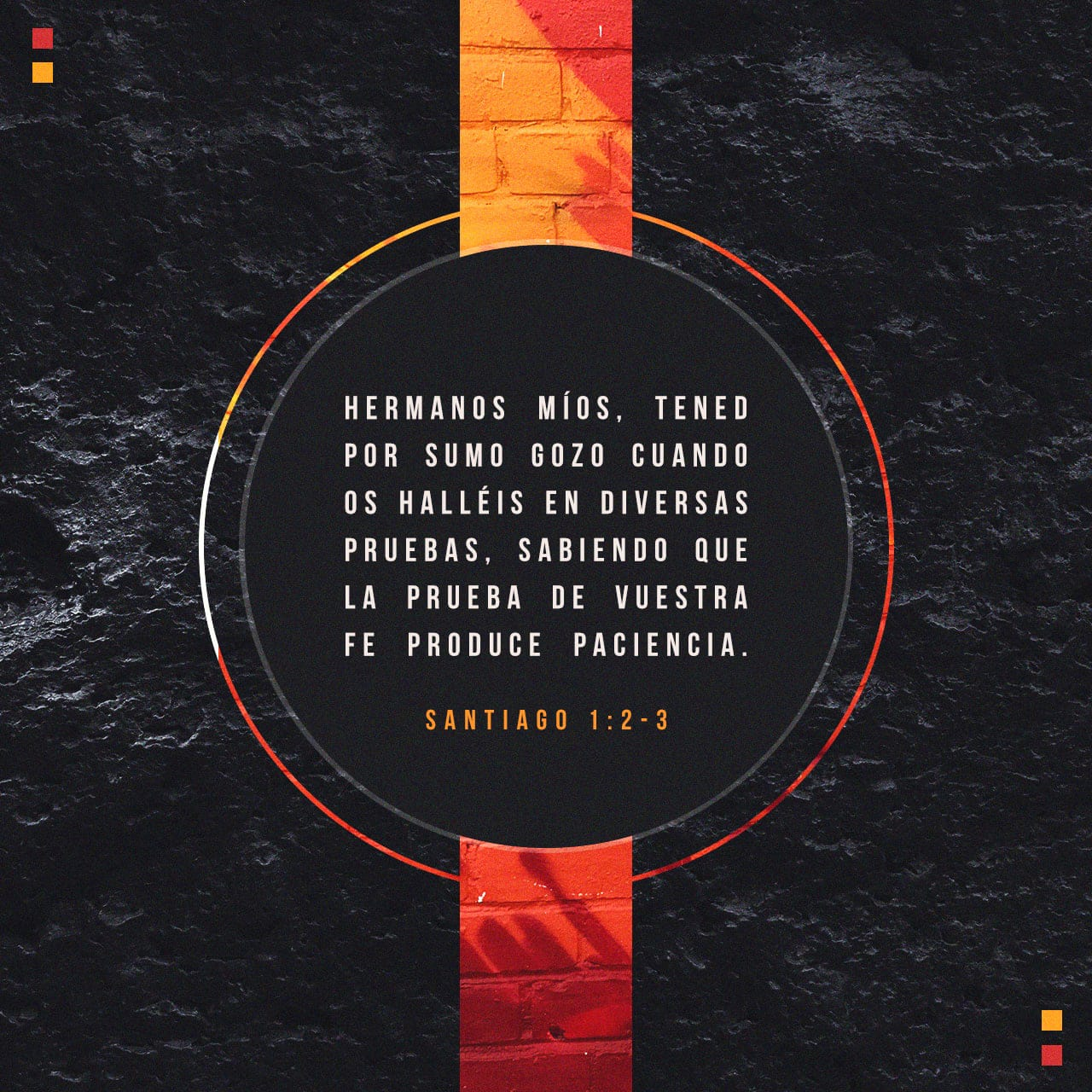 Santiago 1:3 sabiendo que la prueba de vuestra fe produce ...