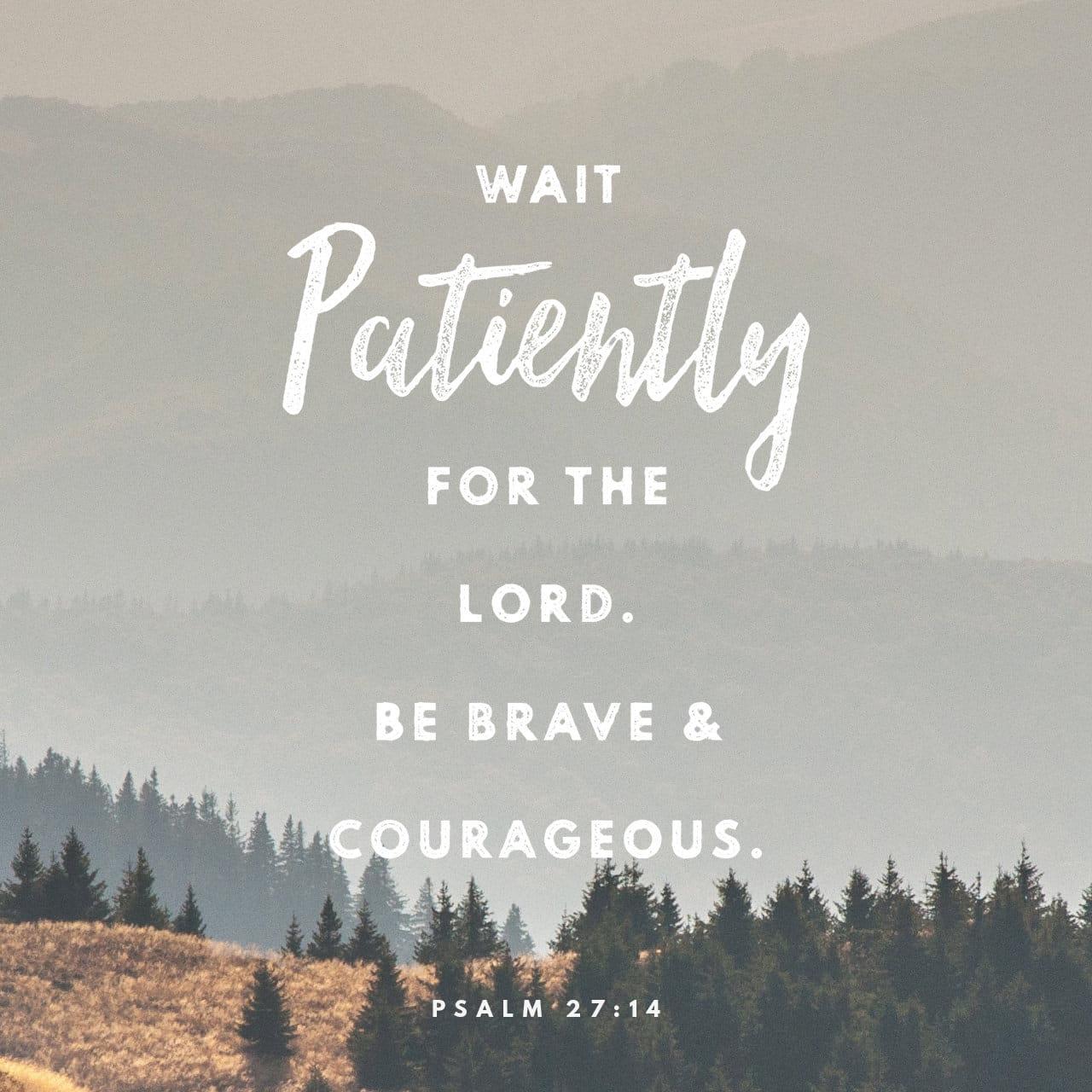 Psalm 27:1-14 NIV