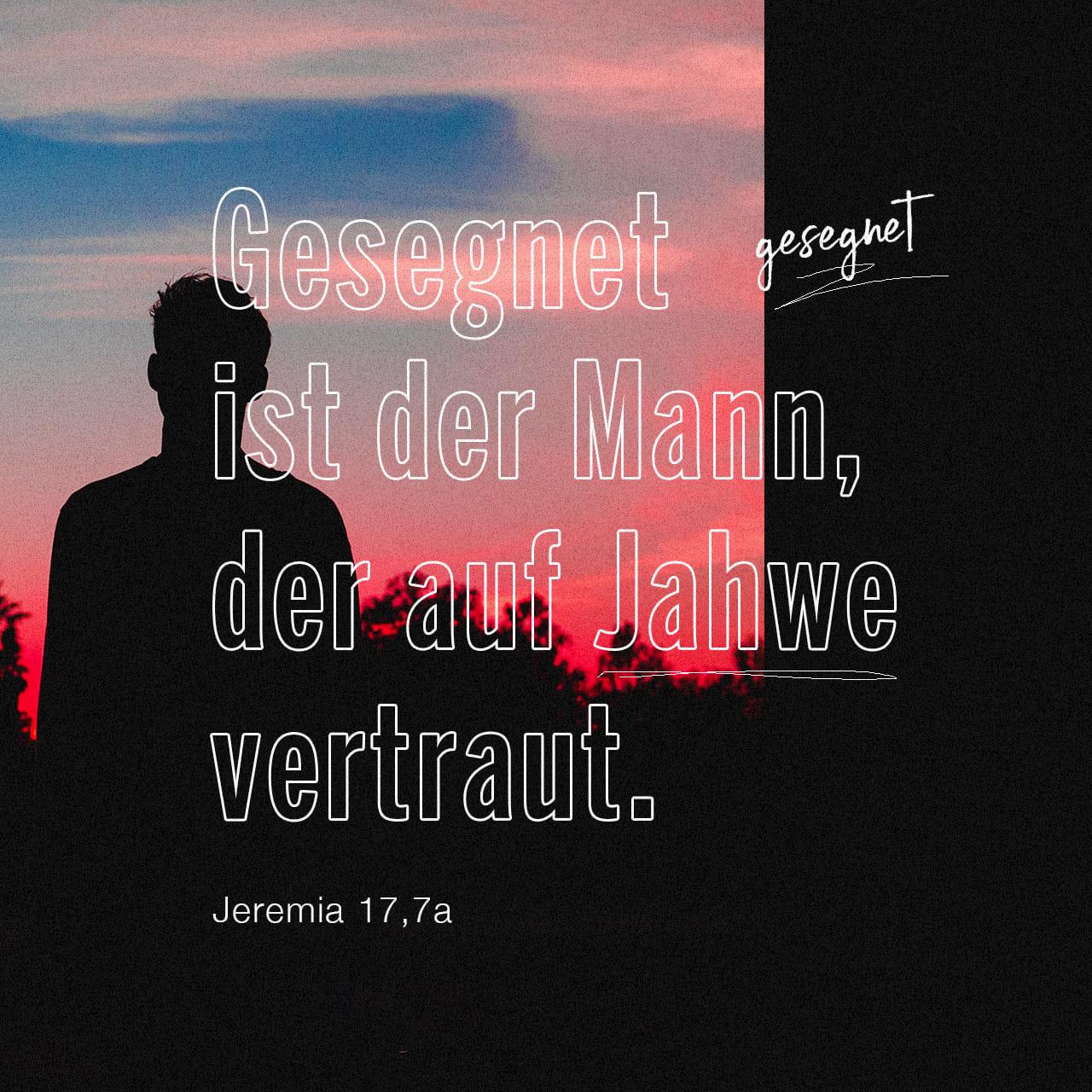 Jeremia 17 7-8