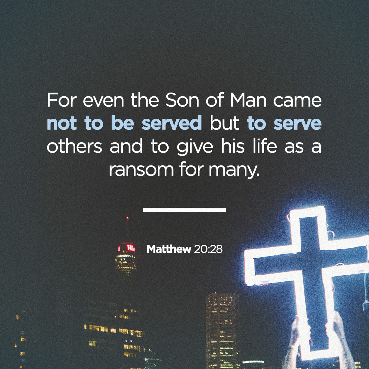 Image result for MATTHEW 20:25-28