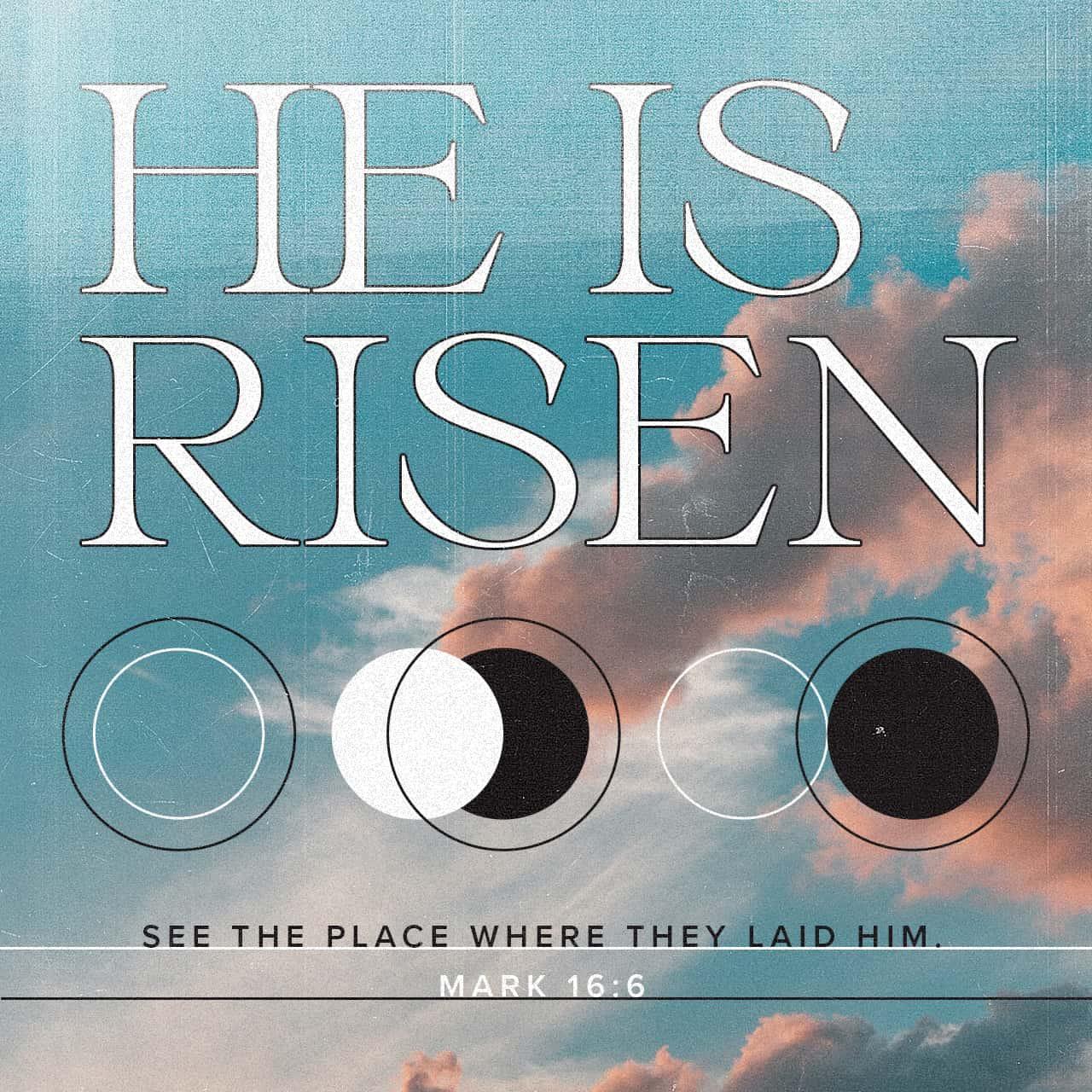 Mark 16:6 Verse Image