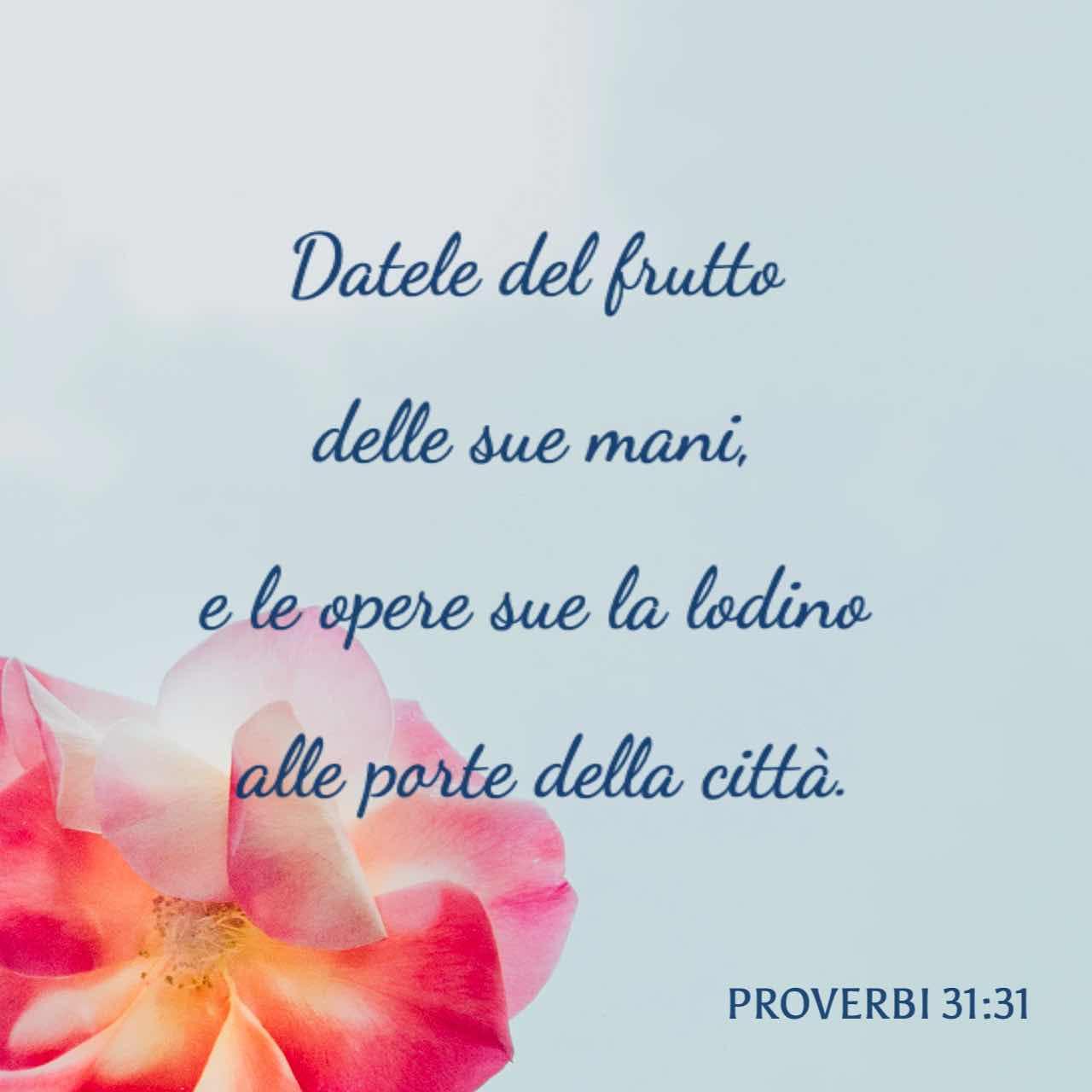 Proverbi 31:29 Immagine Versetto