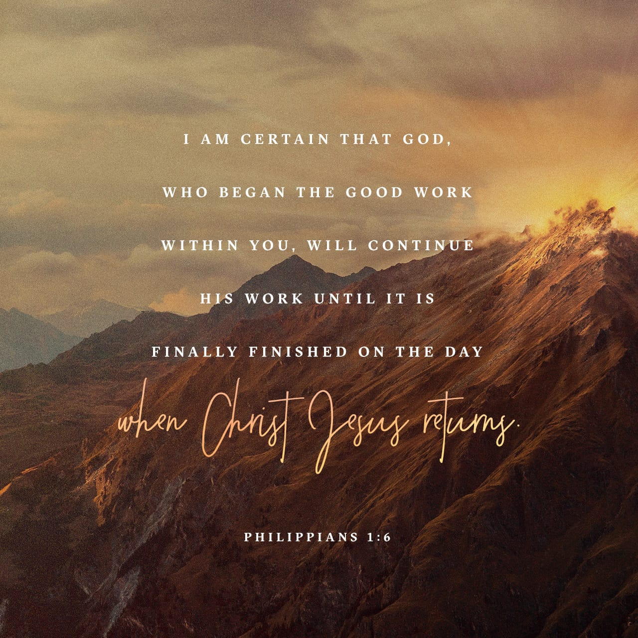 philippians 1 6 being confident of this that he who began a good