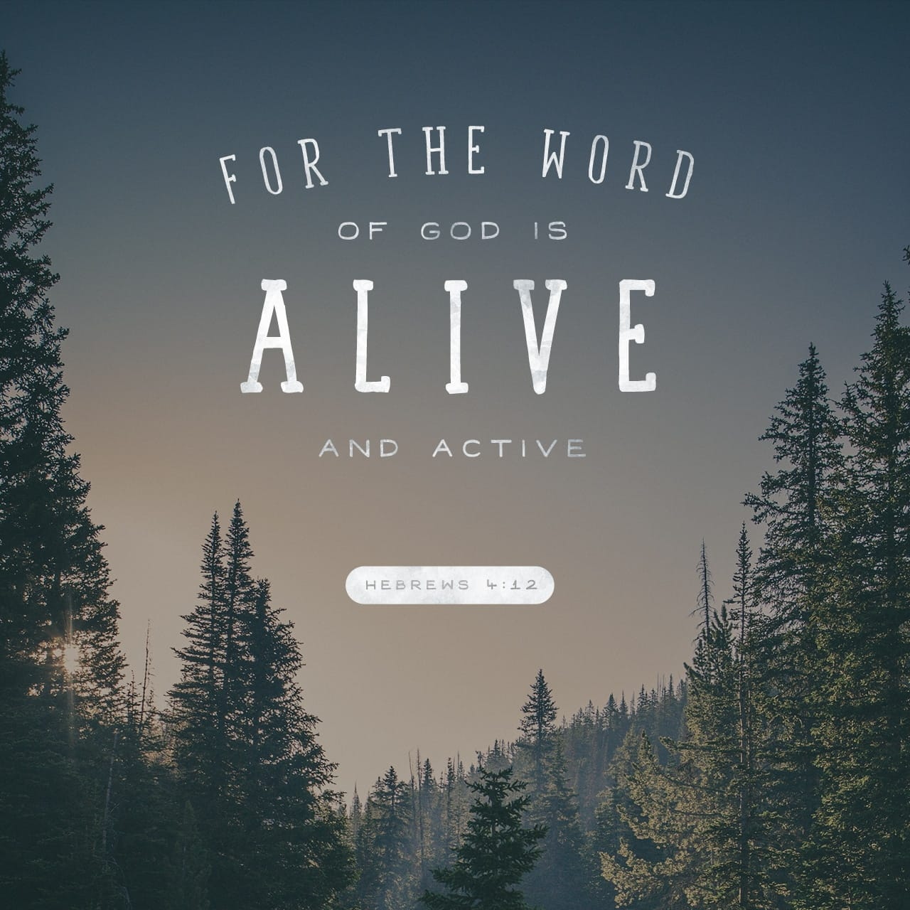 Hebrews 4:12 For the word of God is quick, and powerful, and sharper than any twoedged sword, piercing even to the dividing asunder of soul and spirit, and of the joints and marrow, and is a discerner of the thoug | King James Version (KJV)