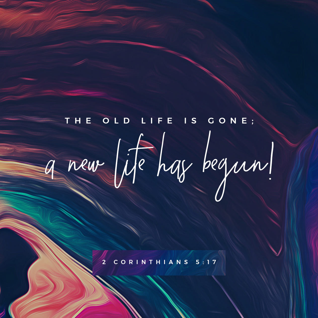 II Corinthians 5:17-21 Therefore, if anyone is in Christ, he is a new creation; old things have passed away; behold, all things have become new. Now all things are of God, who has reconciled us to Himself through Jesus Chri | New King James Version (NKJV)