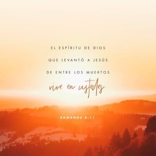 Romanos 8:11 Imagen de Versículo