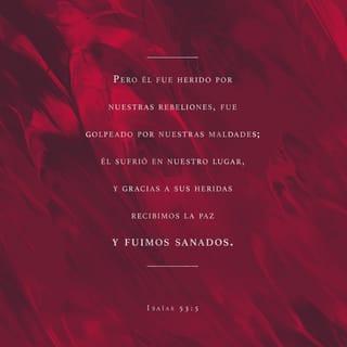 Isaías 53:5 Imagen de Versículo