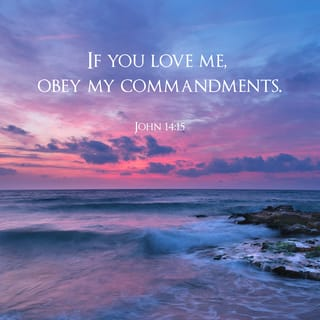 John 14:15-17 If you [really] love Me, you will keep (obey