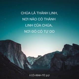 II Cô-rinh-tô 3:17 VB1925 Kinh Thánh Bản Truyền Thống 1925 ...