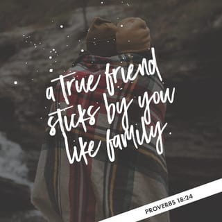 Proverbs 1824 Friends Come And Friends Go But A True Friend Sticks