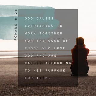 Romans 8:28 And we know that all things work together for good to