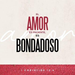 1 Corintios 134 8 El Amor Es Sufrido Es Benigno El Amor