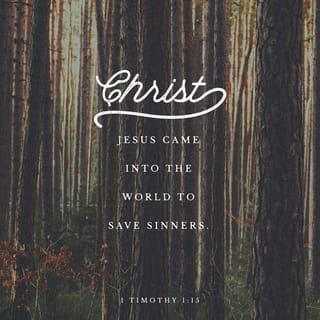 Verse Image for 1 Timothy 1:15