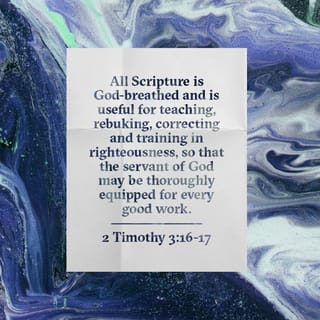 Image result for 2 timothy 3 16-17 niv
