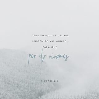 1 João 4:9 Imagem do Versículo