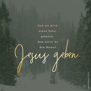 Versbild: Matthäus 1,21