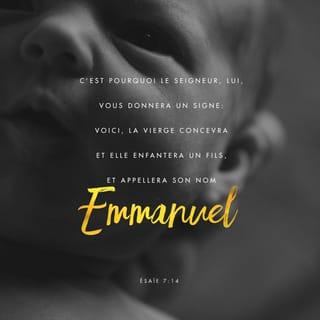 Ésaïe 7:14 verset Image