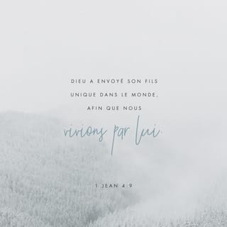 1 JEAN 4:9 Verset Image