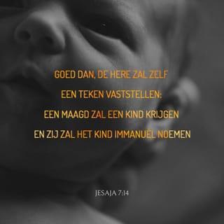 Versafbeelding Jesaja 7:14
