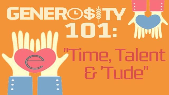 Generosity 101: