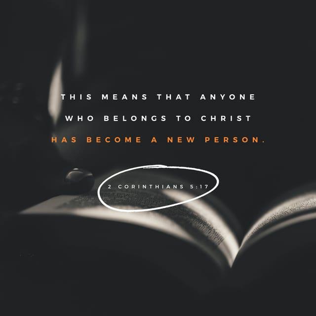 Verse Image: 2 Corinthians 5:17