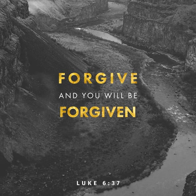 to forgive and to be forgiven I asked for forgiveness but she cant forgive me, instead she bad mouths me to her family and i am sensing a change in their attitude toward me i have decided to forgive myself and move on, but i am still angry.